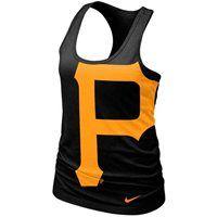 HOT ITEM: Nike Pittsburgh Pirates Ladies Cotton Tank Top