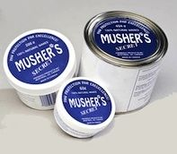 Musher's Secret is the safe, non-toxic  way to protect your dog's paws. This stuff is fantastic! It coats your dogs paws and protects them from the elements, while still allowing their paws to sweat/breathe so that they are able to cool off (very important!) I use this on my pups to prevent burns in the summer and frost bite in the winter on our walks.