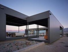 Desert House Prefab | designed by Marmol Radziner