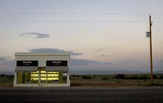 store prada store, shop, desert, pradamarfa, prada marfa, texas, place, design, art projects