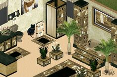 Egyptian Bathroom Decor