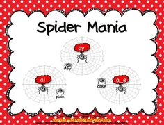 Help the spider find it's web!!  This activity is a long a word sort.  It has students working with words with the vowel patterns of -ay, ai, a_e. ...