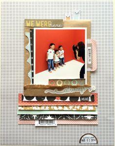 1 photo + paper strips