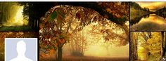 Facebook Cover Photo Autumn Forest Collage