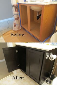 Staining the easy way with professional results. #forthehome #diy