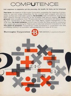 The Modernist Nerd: Vintage Science Ads from the 1950s and 1960s   Brain Pickings