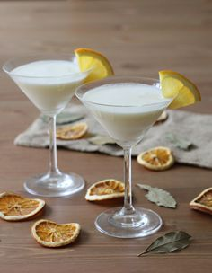 Navel Orange Cream Martini  This dessert martini makes a delicious end to any meal!