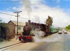 Tren excursionista en Copiapó,