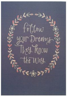 Follow your dreams...Let's discuss the dreams of your life! Sign up for a Complimentary Coaching Session at. Lynne's Life and Weight Loss Coaching.  www.dreambuildingcoach.com