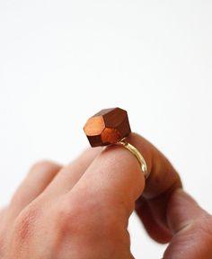copper/silver ring