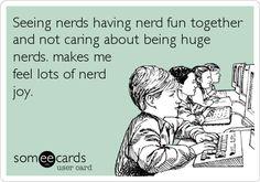 Much nerd joy