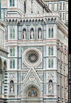 La Catedrale di Firenze and its amazing marble facade - Italia