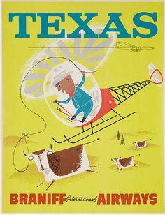 Texas - Braniff Airways