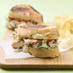Tarragon Tuna Melts