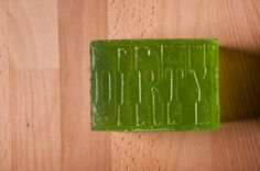 Digging these soaps from Igloo Letterpress.