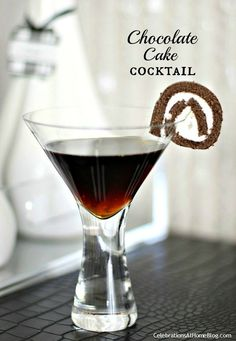chocolate cake cocktail