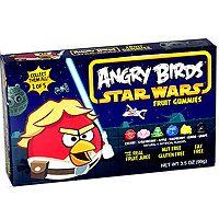 Angry Birds Star Wars Fruit Gummies - Luke Skywalker - 1 box