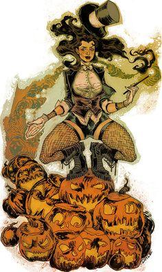 Zatanna Zatara...she is kind of a big deal