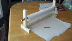DIY craft paper roller