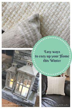 Easy ways to cozy up