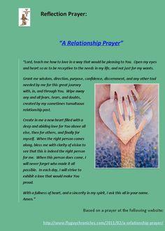 A Relationship Prayer