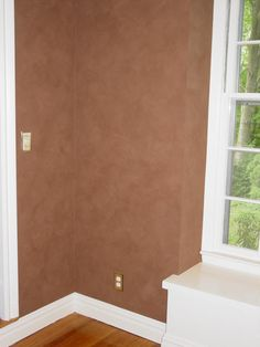 faux paint | Surfaces with Paint - Faux Suede Wall Finish