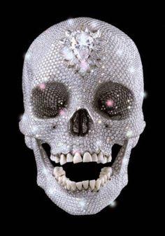 diamond skull.