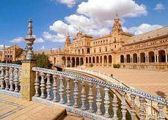 Plaza España en Sevilla