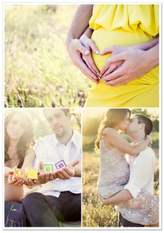 Couple Maternity Picture Ideas | Maternity Session by Chelsea Maras Photography on TheIndieTot.com