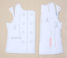 wide or narrow shoulder adjustment by Colette