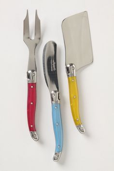 Laguiole Cheese Knife Set  Anthropologie.com #gifts
