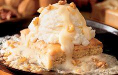 Applebee's Walnut Blondie With Maple Butter Sauce