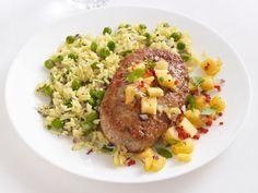 Tropical Chicken Patties Recipe : Food Network Kitchen : Food Network