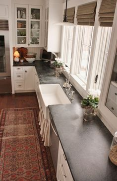 A good blog post on the owner of soapstone counters.