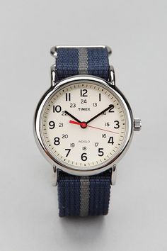 Timex Striped Band Weekender Watch #urbanoutfitters