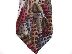 Jerry Garcia Grateful Dead Neck Tie Silk Made USA New York NY Collectors Ed  #JerryGarciaCollectorsEdition #NeckTie JustLuvTreasures.com