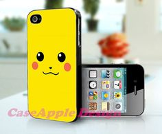 Pikachu  Apple iPhone 4 Case iPhone 4S Case iPhone by Caseapple, $12.99