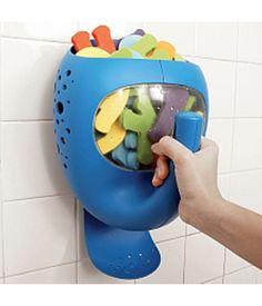 The Whale Pail bath organizer—genius!