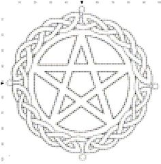 Crocheted Celtic Pentacle-Now with Pattern! - CROCHET