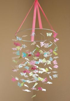 Get a $500HnM Gift card The Isabella Butterfly Mobile-Great For Baby Shower Gifts, Nurseries, Bedrooms, Birthdays mama_of_2