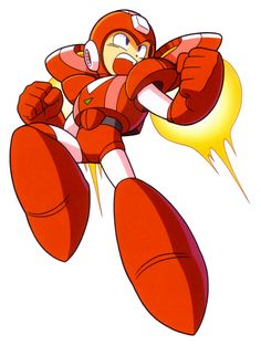 Jet Megaman: A combination of Mega Man and Rush introduced in Mega Man Six