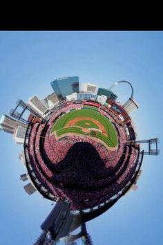 Amazing pic of Busch Stadium