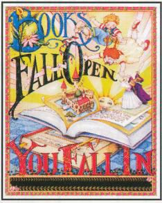 Books Fall Open