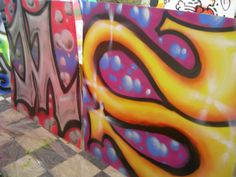 Teaching Graffiti - Freehand wild style graffiti lettering examples for teaching graffiti