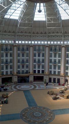 West Baden Springs hotel - Indiana