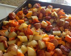 Sausage, Pepper and Potato Bake
