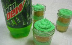 Mountain Dew Cake in a Jar  hmmm sounds good in theory!