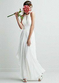You will look breathtaking in this majestic wedding dress! Style EJ4M6307 #DBStudio #DavidsBridal #Spring2014 #Weddingdress