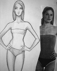 COAFDS (Confessions of a Former Design Student): Fashion Croquis 101. Bitches with 9 Heads