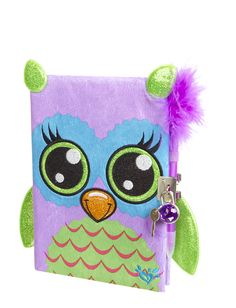Plush Owl Diary | Journals & Writing | Beauty, Room & Tech | Shop Justice